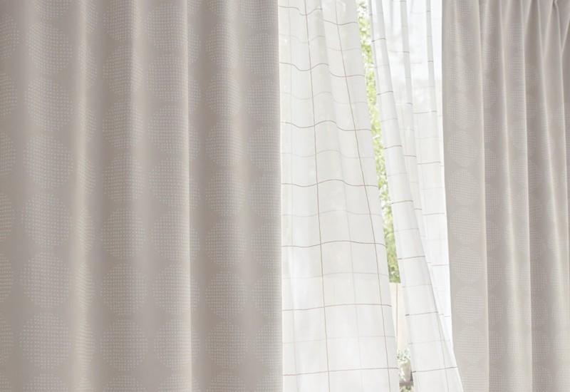 ベルメゾンのカーテン
