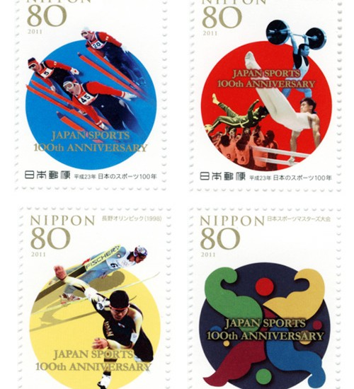 Anniversary on Stamps