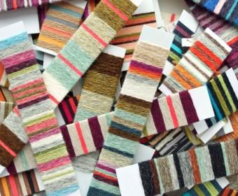 Various yarn wrappings