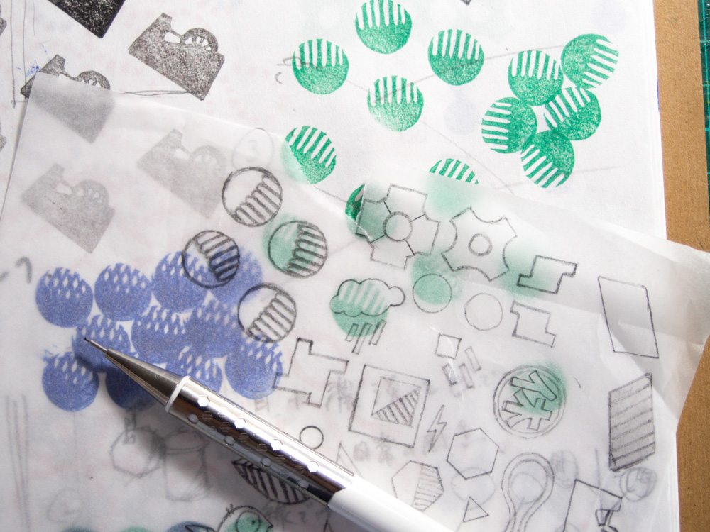 making of rubber stamps