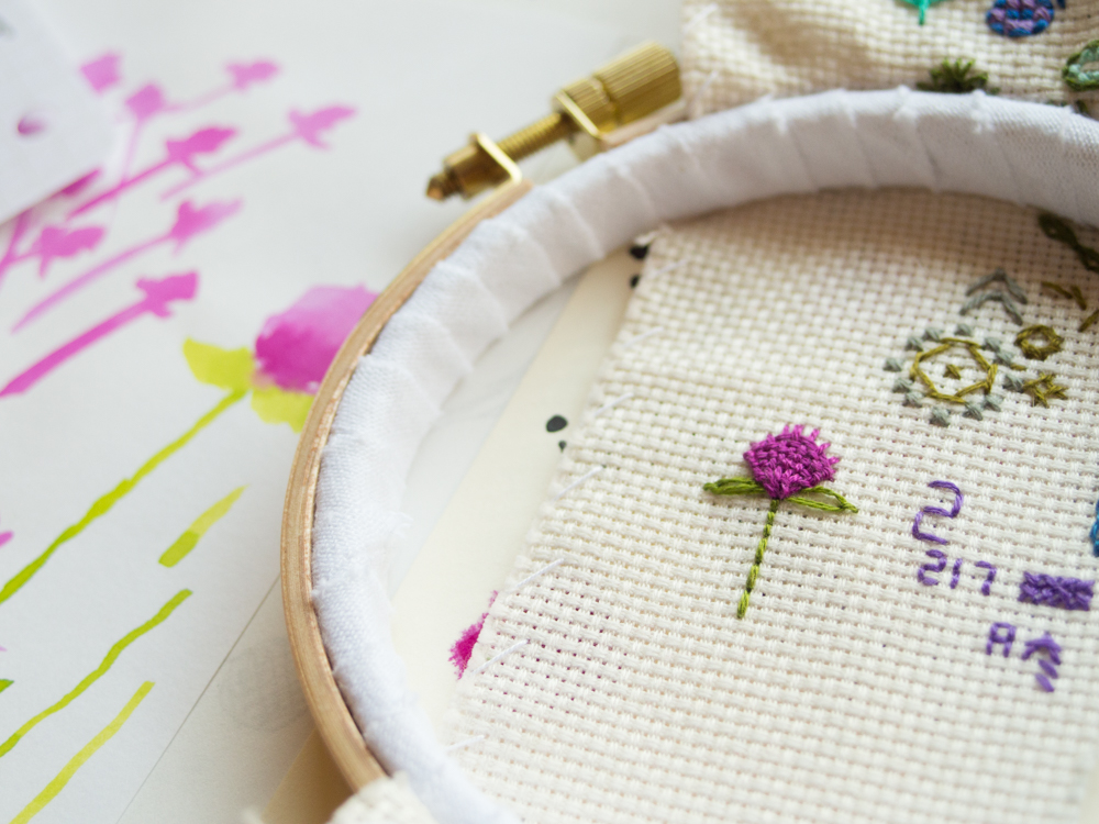 embroidery 刺繍