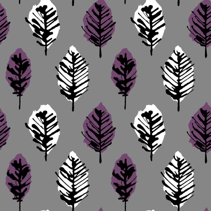 Zelkova pattern design by Hitomi Kimura